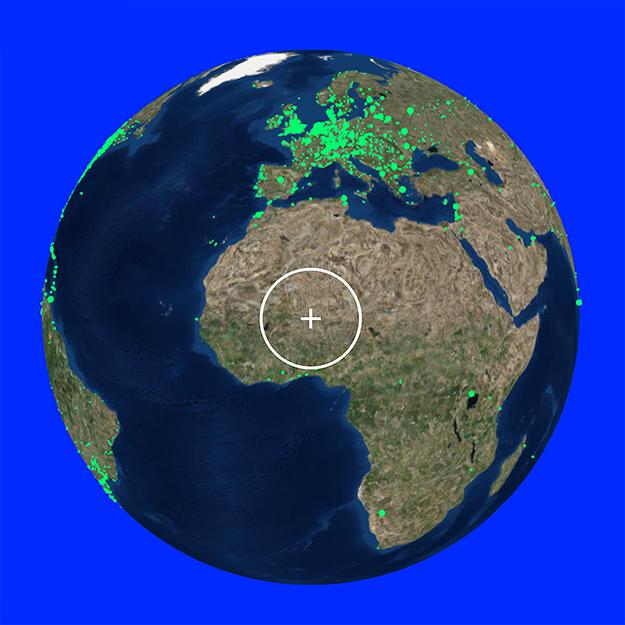 Radio Garden: радиостанции на карте мира