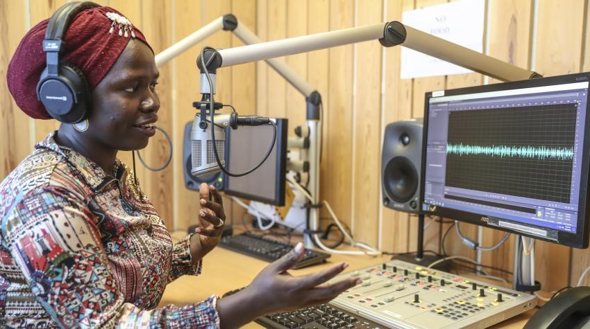 Новый мир, новое радио: Хроника ООН